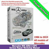 MERCEDES BENZ SMART WIS 🌟 EPC 🚘 ASRA Service Repair Workshop Manual 1986-2019