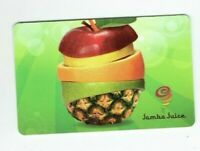 Jamba Juice Gift Card Smoothie Restaurant / Sliced Fruits - No Value - I Combine