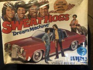 1976 MPC 1/25 WELCOME BACK KOTTER SWEATHOGS DREAM MACHINE GRAND PRIX W/ Figs