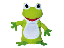 Sprechender Frosch 16 cm Plüschtier Talking Toy Kuscheltier Stofftier