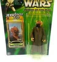 Plo Koon Jedi Master Force file Action figure Star Wars Hasbro 2000 sealed