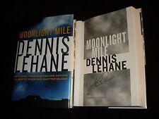 Dennis Lehane signed Moonlight Mile 1st printing hardcover book
