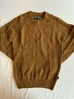 Barbour Men's Brown Lowther Crew Neck Sweater Size Small