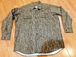 Oversize Outfitters Hunting Camo 3XL Heavy-weight Flannel Shirt Made in USA