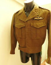 Military WW2 Tunic RAAF Australian Air Force Uniform AFC Pilots Badge (5292)