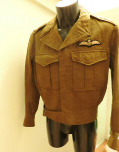 Military WW2 Tunic RAAF Australian Air Force Uniform AFC Pilots Badge (5292)