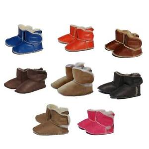 Baby Lambswool Shoes - Touch Fastener Slippers fur Shoes Kids Shoes