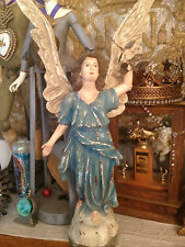 TRANQUILITY ANGEL BLUE VINTAGE FINISH HOLIDAY CHRISTMAS PEACEFUL BY BETHANY LOWE