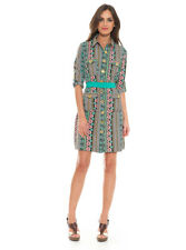 Almatrichi Giuliana Dress Multi/Green Size UK Approx 10 rrp £90 SA172 QQ 08