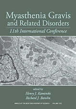 Myasthenia Gravis and Related Disorders: 11th International Conference, Volume