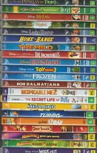 Animated Childrens + Family Movies DVD CHOOSE YOURS * Disney Pixar Dreamworks +