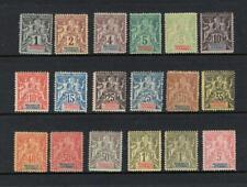 French Colonies Madagascar 1896-1906 Partial **FOURNIER** Set - No Reserve!