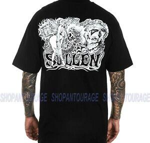 Sullen Palladium SCM4216 New Short Sleeve Graphic Tattoo Skull T-shirt For Men