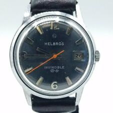 Helbros Invisible 17 Jewel Watch RUNS SSS28