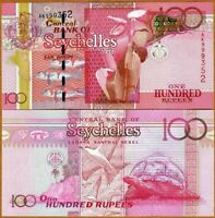 Seychelles 100 rupees  2011 Pick 43  NEW-UNC
