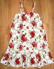 H&M Girls Mädchen Baumwolle Kleid Dress gr. 128 8/10years neuf new