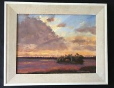 James F. Hutchinson - Rare  Original - Florida Artist