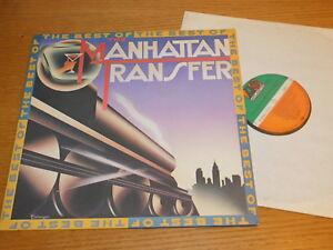LP THE MANHATTAN TRANSFER atlantic ATL-50856 GERMANY MADE ATL50856 BEST OF