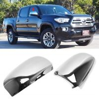 For 2016-2020 Toyota Tacoma Chrome Mirror Covers Trims (W/O Turn Signal Cutout)