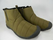 Keen Howser Mid Size 8.5 M (B) EU 39 Women's Slip-On Fashion Boots Olive 1019652