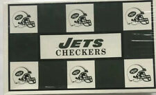 Vintage NFL Team Checkers New York Jets Vs Miami Dolphins Open Unplayed football