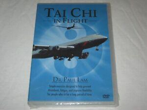 Tai Chi In Flight - Dr Paul Lam - Brand New & Sealed - Region 4 - DVD