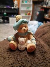 "1993 CHERISHED TEDDIES - ""JACK"" January Bear with Snowbear #914754"