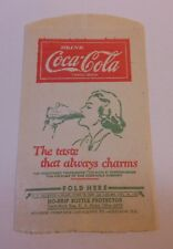 "Vintage Coca Cola 1946 Dry Server ""The Taste That always Charms"" #14"
