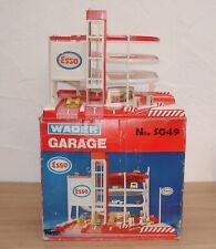 große ESSO - Tankstelle / Garage  um 1978 zum herrichten- Siku / Gama /Matchbox