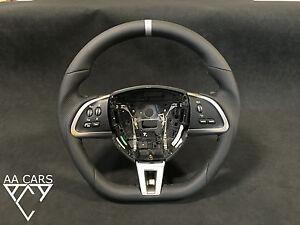 Steering Wheel Jaguar XF XK Leather flat bottom