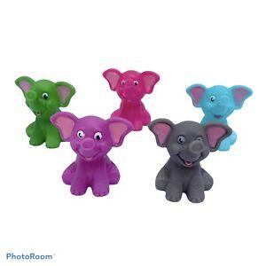 Elephant rubber duck, novelty bath toy, bath squirter, loot bag filler