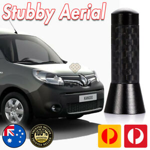Antenna / Aerial Stubby Bee Sting for Renault Kangoo Black Carbon 3.5 CM