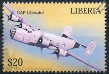 USAAF (now CAF) Consolidated B-24 LIBERATOR Aircraft Stamp (Liberia)