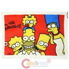 The Simpson Family Plush Blanket Throw 29x40 Red Mini Blanket Auto Accessory