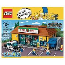 Lego The Simpsons Kwik-E-Mart Set 71016 NIB 2179 PCS Homer Marge Bart Apu Snake