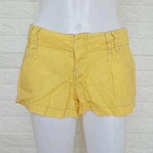 Guess Shorts for women color Yellow