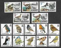 Alderney-Birds-1984(set) & 2020 issue mnh