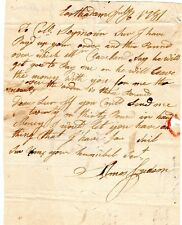 1781, East Haddam, CT. Captain Amos Judson, looking for pay, Col. Thomas Seymour