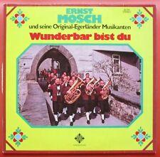 LP Wunderbar bist du Ernst Mosch und Seine Original Egerlander Musikanten