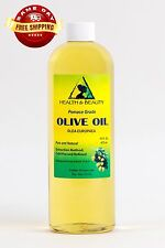 OLIVE OIL POMACE ORGANIC by H&B Oils Center COLD PRESSED PREMIUM PURE 16 OZ