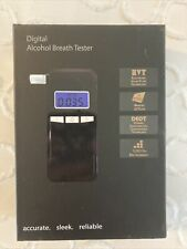 Professional Breath Blood Alcohol BAC Tester Blow-In Breathalyzer Digital Device