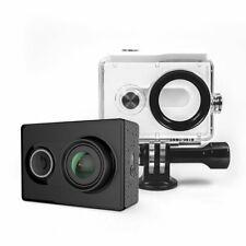 YI Action Camera schwarz Zubehörpaket Unterwassergehäuse 40m 1080p 60fps WLAN BT