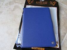 Kayscase Apple iPad AIr 2 Bookshell Tablet Stand Folio Case Cover Blue LOT of 10