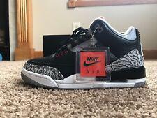 finest selection 44ee3 4cb6a Nike Men s Air Jordan 3 Retro OG Black Fire Red Cement Grey Size 7 859262  001