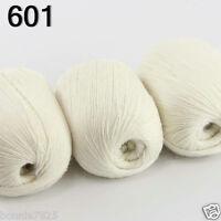 Sale Luxurious Soft 3x50gr Mongolian 100%Cashmere Hand Knitting Wool Yarn 01