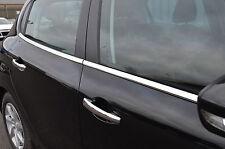 CHROME SIDE DOOR Window Sill Trim Set copre S.Steel PER PEUGEOT 208 2012 +