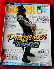 Guitar Part #241 French Language Slash Guns'n'Roses Brian May Wylde magazine