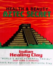 20g aztec secret indian healing clay deep pore cleansing bentonite masks + gift