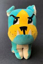 Dakin Dream Pets Vintage Blue & Yellow Bulldog Dog Drummond Sawdust Stuffed