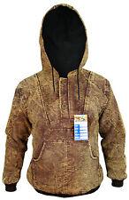 Rusty Boho Stonewashed Funky Gothic Bomber Cotton Casual Pullover Doof Jacket